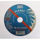 MEULE DE TRONCONNAGE pour Métal et Inox - SAIT PLANET A60Q-BF 125x1,0x22,23