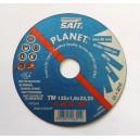 MEULE DE TRONCONNAGE pour Métal et Inox - SAIT PLANET A60Q-BF 125x1,6x22,23