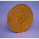 GALETTE SISAL/COTON Diamètre 250mm Alésage 16mm Epaisseur 20mm